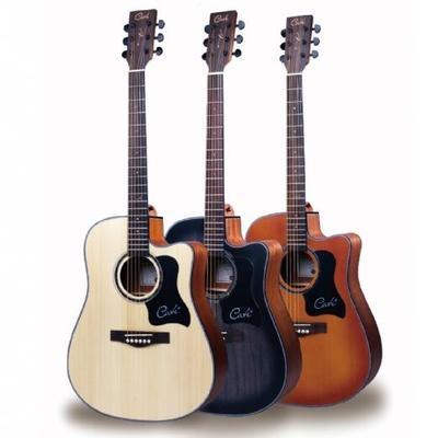 民谣吉他 正品卡特CATE GUITAR纯正德国工艺QM71